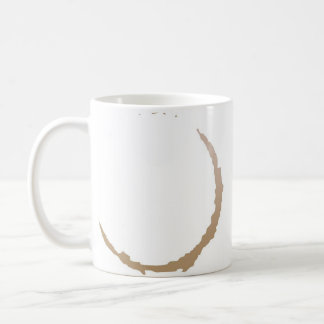 Mancha del café taza de café