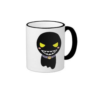 Mancha el fantasma negro taza