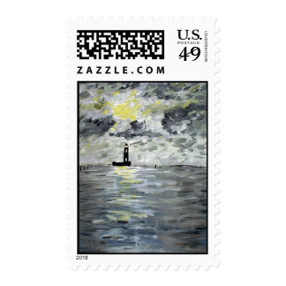Manchac Lighthouse Stamps