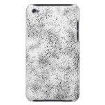 Manchado blanco y negro Case-Mate iPod touch carcasa