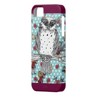 Manchado el caso del iPhone 5 del búho 4 iPhone 5 Protector