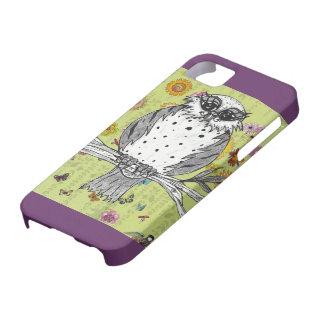 Manchado el caso del iPhone 5 del búho 5 iPhone 5 Carcasa