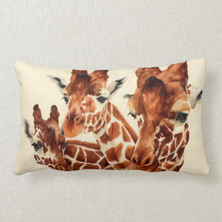 Manchado - jirafas almohada