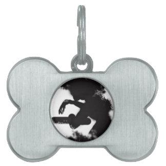 Manchas de Rorschach Placa De Mascota