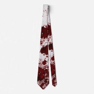 Manchas de sangre de Falln Corbatas Personalizadas