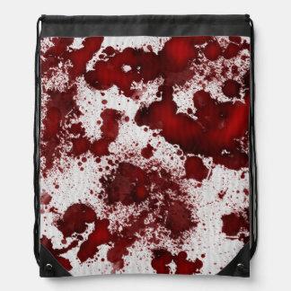 Manchas de sangre de Falln Mochilas