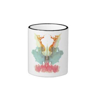 Manchas de tinta 9 de Rorschach Taza