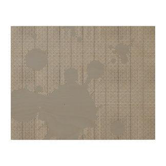 manchas grises impresión en madera