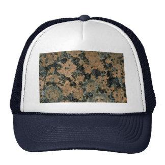 Manchas pintadas roca sólido gorra