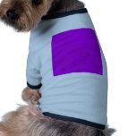 Manchas púrpuras sucias del agua camisetas de perro