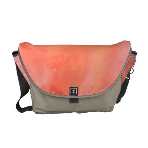 Manchas rosadas bonitas bolsas de mensajeria