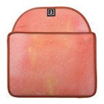 Manchas rosadas bonitas fundas para macbooks