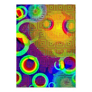 manchas solares invitación 12,7 x 17,8 cm