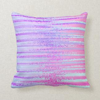 Manche la impresión colorida rayada el extracto de almohadas