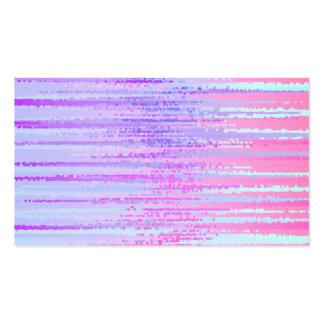 Manche la impresión colorida rayada el extracto de tarjetas de visita