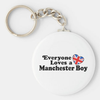 Manchester Boy Key Chain