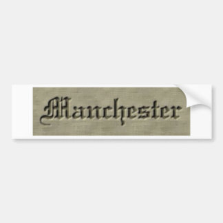 Manchester Co. Pegatina Para Auto