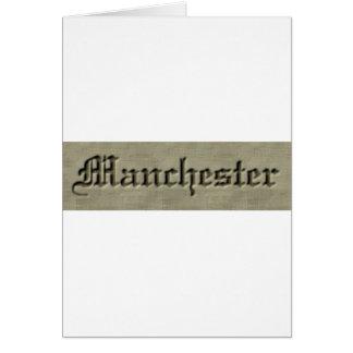 Manchester Co. Tarjeta De Felicitación