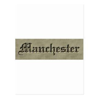Manchester Co. Tarjeta Postal