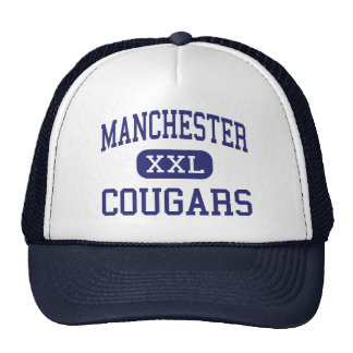 Manchester Cougars Manchester Center Trucker Hat