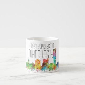 MANCHESTER ENGLAND SKYLINE ESPRESSO CUP