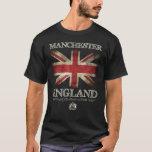 Manchester England UK Flag T-Shirt