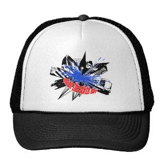 Manchester Explosion in black Trucker Hat