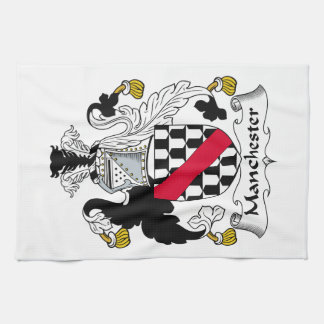 Manchester Family Crest Kitchen Towel