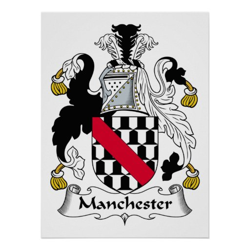 Manchester Family Crest Print