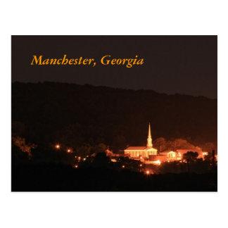 Manchester, Georgia Tarjeta Postal