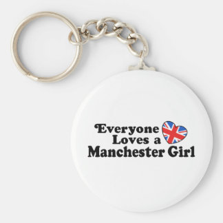 Manchester Girl Keychains