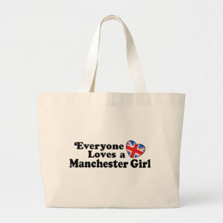 Manchester Girl Large Tote Bag