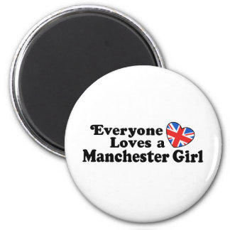 Manchester Girl Magnets