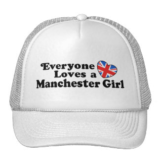 Manchester Girl Trucker Hat