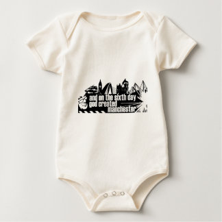 Manchester in outline bodysuits