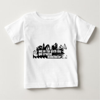 Manchester in outline t-shirts