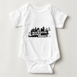 Manchester in outline t shirts