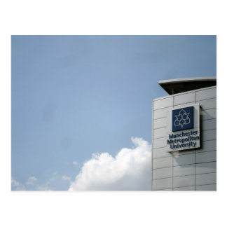 Manchester Metropolitan University Postcard