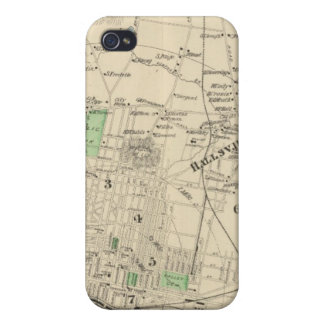 Manchester, NH city, town iPhone 4 Case