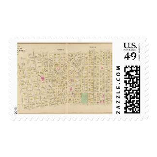 Manchester, NH, sala 34 Sello Postal