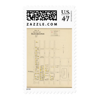 Manchester, NH, Ward 1 Postage