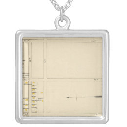 Manchester, NH, Ward 6 Silver Plated Necklace