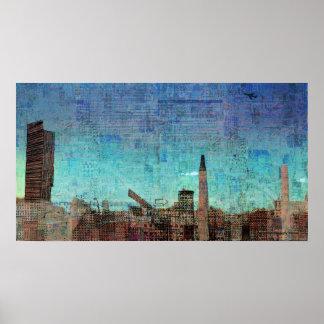 """Manchester"" Print"
