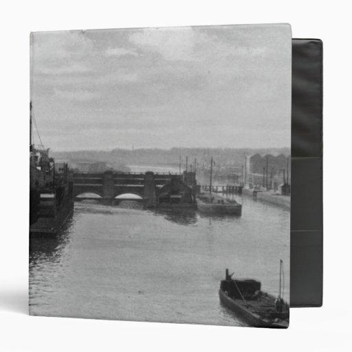Manchester Ship Canal, c.1910 Vinyl Binders