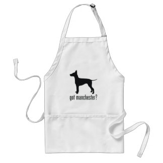 Manchester Terrier Adult Apron