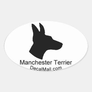 Manchester Terrier Auto Window Decal Sticker
