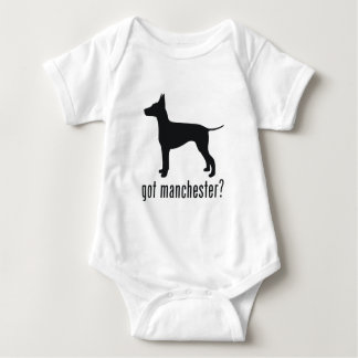 Manchester Terrier Baby Bodysuit
