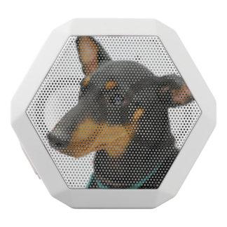 Manchester Terrier White Boombot Rex Bluetooth Speaker