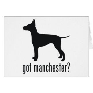 Manchester Terrier Card
