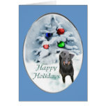 Manchester Terrier Christmas Gifts Greeting Card